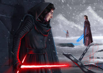 Kylo Ren_Lost in time by Ariata