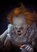 IT_Pennywise by Ariata