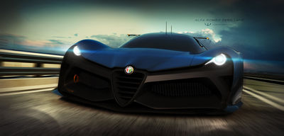 Alfa Romeo Zero concept by wizzoo7
