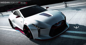 Nissan R36 GTR Nismo concept by wizzoo7