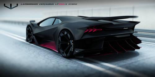 Lamborghini Centaurus hypercar by wizzoo7