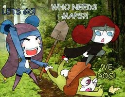 A hunting we will go by HitsujiArmageddon