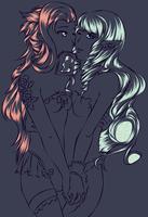 Gaia Online - Goddess of Dark Dreamers 1 by hiei14