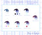 Eye Coloring Tutorial by Meelkui
