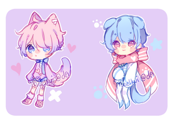 [Sold 2 Bloo] Sketch Adopts Auction Extras+ by meilkuii