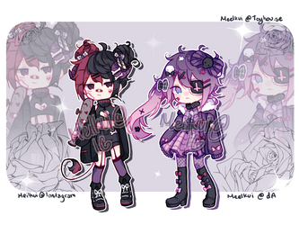 [closed] Goth Troubles 30 Euros by meilkuii