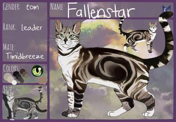 Fallenstar Ref by PatchyFallenstar
