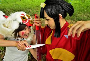 San vs Eboshi by MIUX-R