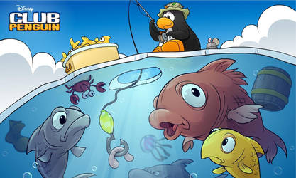 Club Penguin Wallpaper 3 by BlackY05h1