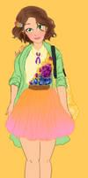 Modern Rapunzel by Andi-Tiucs