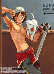Shinobi Illustrated -- Kiba by The-Z
