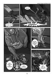 Ninja Monkey Comic, ch. 4, p. 19 by The-Z