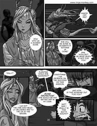 Ninja monkey comic, ch. 4, p. 20 by The-Z