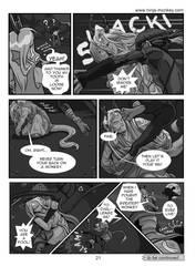 Ninja Monkey Comic, ch. 4, p. 21 by The-Z