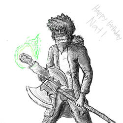 Birthday Dad by BlazingChicken64