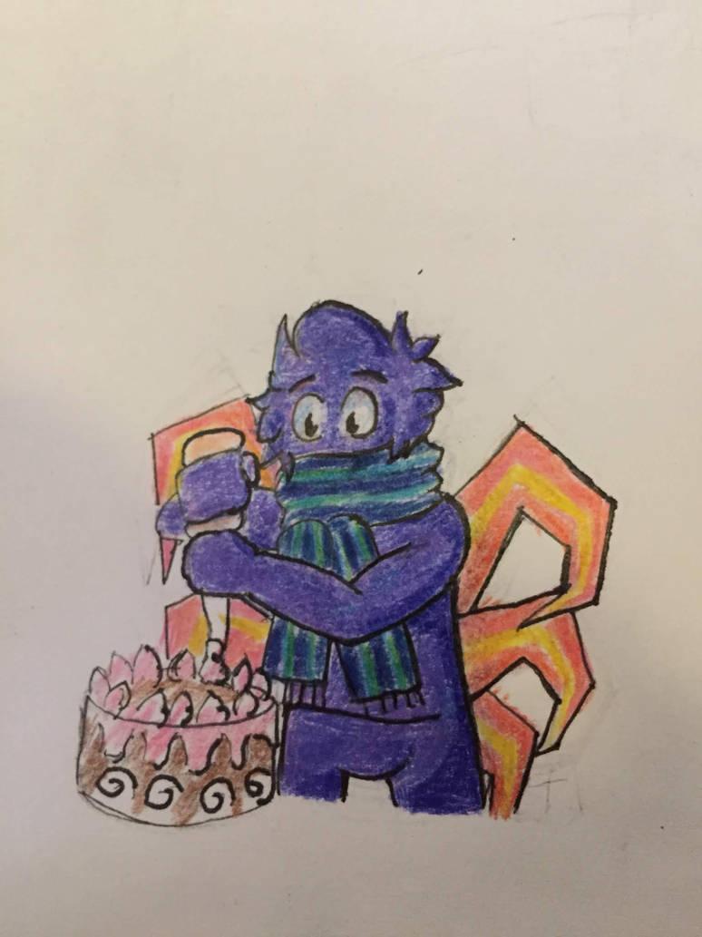 smol cake beaann by BlazingChicken64