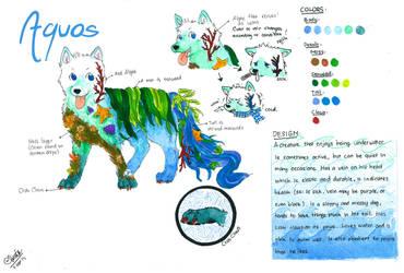 Aquos Ref Sheet by PATotkaca