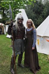 Eowyn and Eomer by Lady--Eowyn