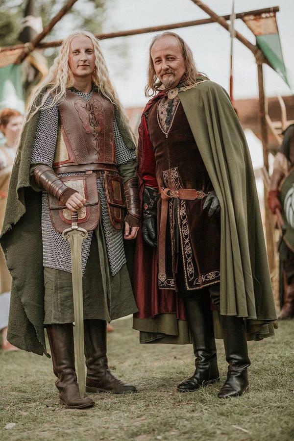 Eowyn and Theoden by Lady--Eowyn