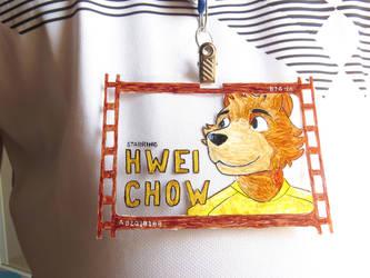 Badge for Brasil FurFest by HweiChow