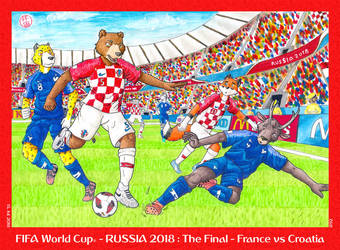 FIFA World Cup - Russia 2018: The Final by HweiChow