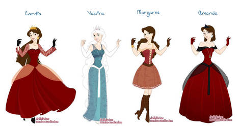My Own Princesses by mission1rwh