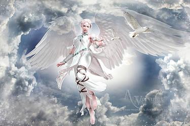 Aphrodite - Goddess of Love, Beauty, Pleasure, by annemaria48