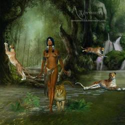 The Cheetah Woman by annemaria48