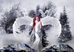Snow angel is born by annemaria48