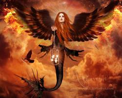 The stranger Angel 1 by annemaria48