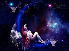 The Moon Angel by annemaria48