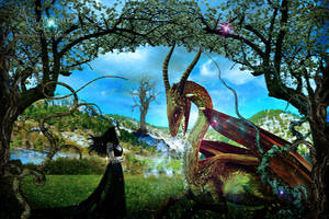 The story of my dragon by annemaria48