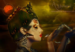 Goddess Of Egypte Isis by annemaria48