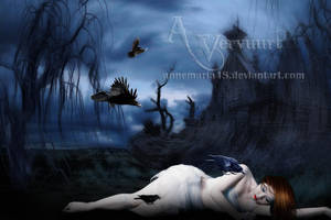 Raven Lady by annemaria48