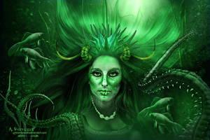 creature female by annemaria48