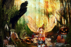 My halloween place by annemaria48