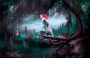 Fantasy wood by annemaria48
