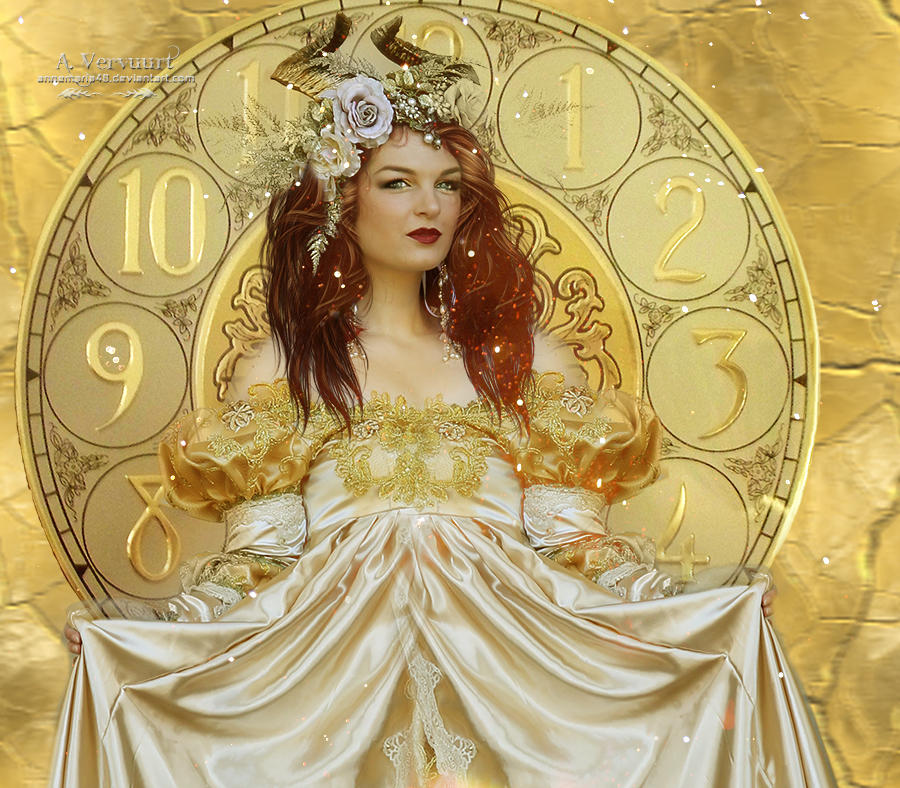 The golden woman by annemaria48