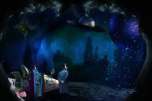 A trip to the moon by annemaria48