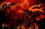 tHE FIRE MONSTER by annemaria48