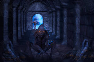 The alien portal by annemaria48