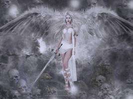 The skelet angel by annemaria48