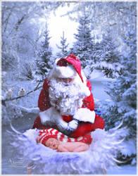 Santa  Child Born by annemaria48