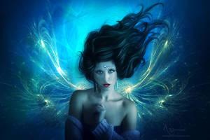 Angel bleu by annemaria48