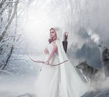 The arrow woman by annemaria48