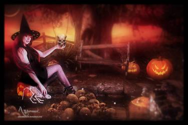 Halloween dead by annemaria48