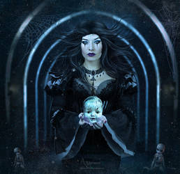 Creepy doll house by annemaria48