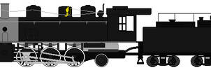 McCloud Railway 2-6-2 sprite base by RyanBrony765