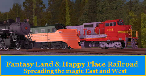 Fantasy Land and Happy Place ad by RyanBrony765