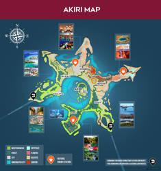 Akiri Map by LoulouVZ